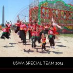 wushu 0 2014 uswa cat yearbook front cover